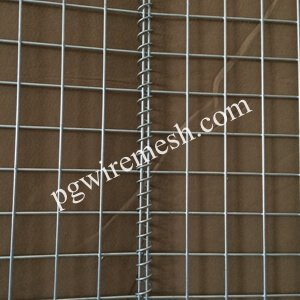 Military Defensive Barrier Foldable Wire Mesh Container