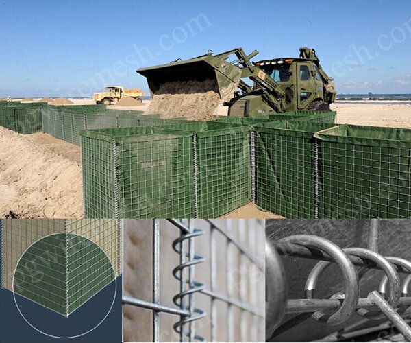 Hesco Defensive Barrier China Manufacturer