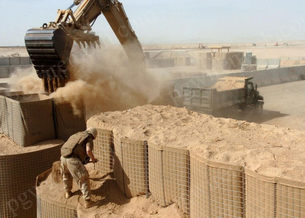 Defensive Barrier Anti-Explosion Wall Filled With Sand Chinese Made