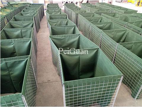 Hesco Defensive Barrier, hesco barrier, hesco bastion China manufacturer