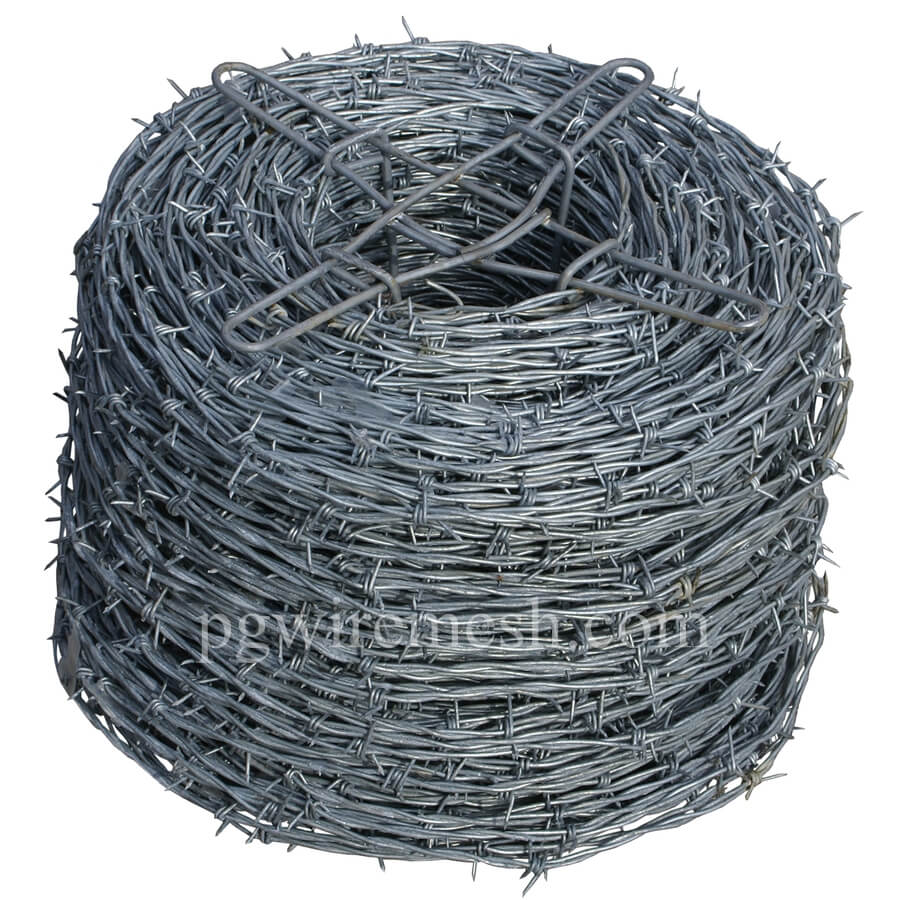 Double twist barbed wire, reverse twist barbed wire China factory