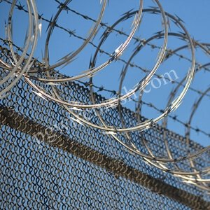 China Galvanized Razor Wire Mesh Manufacturer