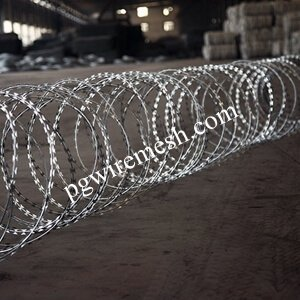 Sharp Galvanized Razor Barbed Wire China Manufacturer