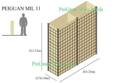 Hesco Bastion Barrier MIL11